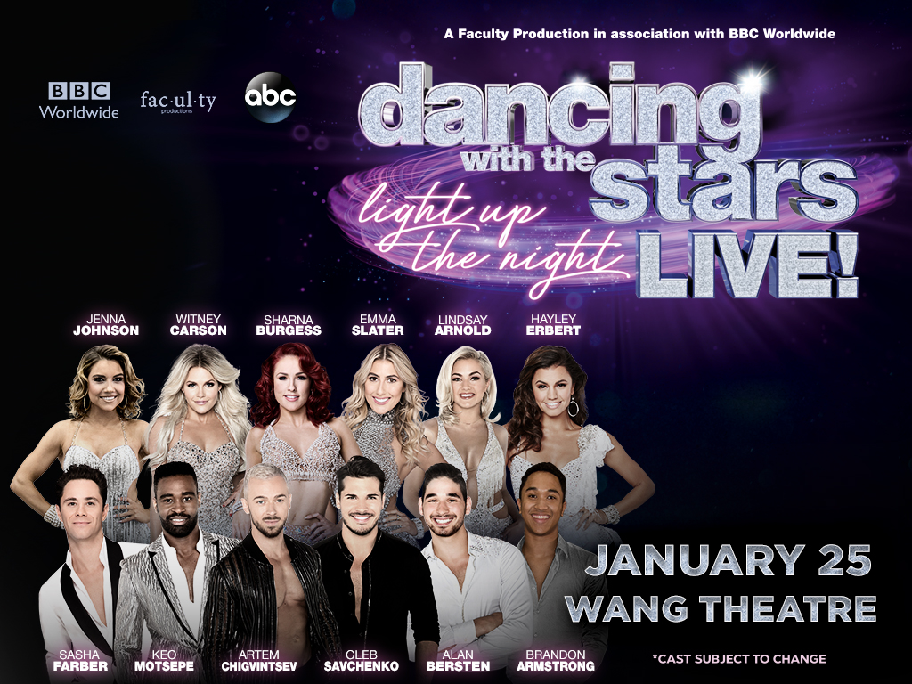 Dancing With The Stars Live Light Up The Night Bda