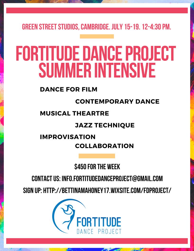 Fortitude Dance Project Summer Intensive - BDA