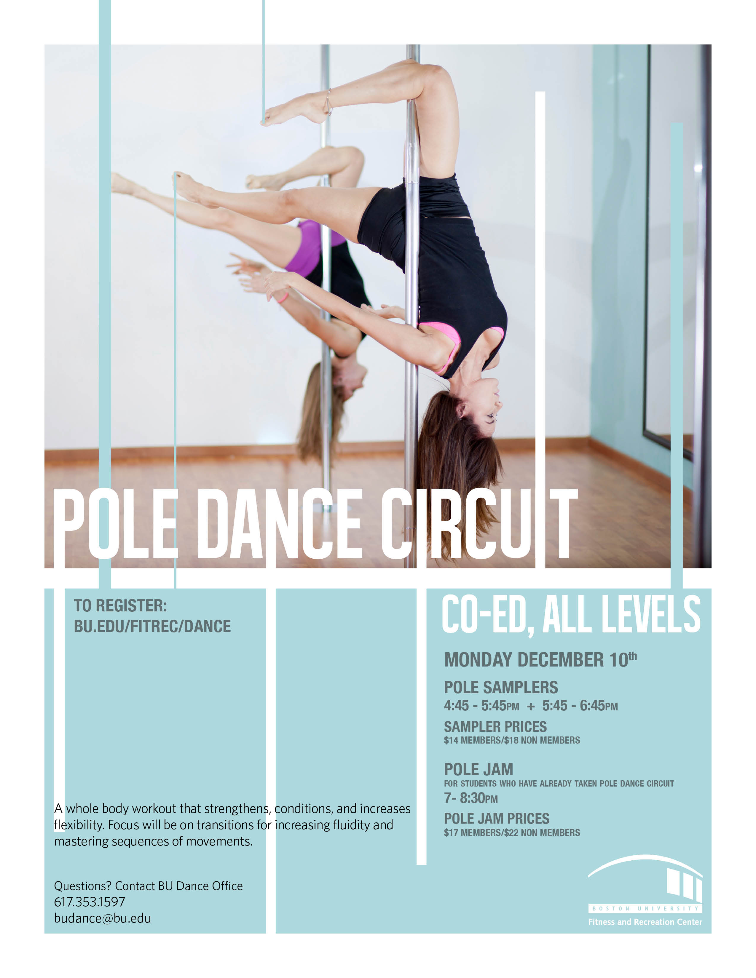Pole Dance Samplers and Pole Dance Jam - BDA
